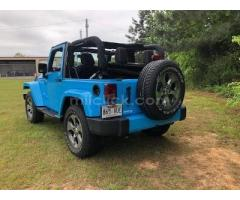 Jeep Sahara 2017 Chief Blue, perfect condition, both tops, 19,788 miles - Little Rock AFB - Image 3