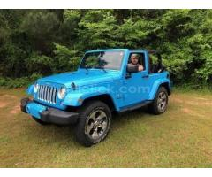 Jeep Sahara 2017 Chief Blue, perfect condition, both tops, 19,788 miles - Little Rock AFB - Image 4