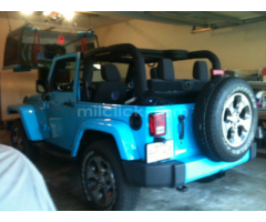 Jeep Sahara 2017 Chief Blue, perfect condition, both tops, 19,788 miles - Little Rock AFB - Image 7